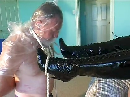 Students Payback, Clip 1 Bondage Smothering Breathplay