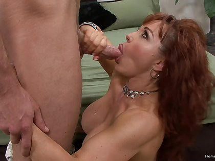 Mature with fine tits, insane blowjob and hard sex