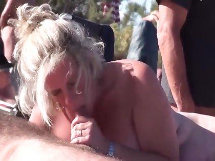 nude beach handjob compilation - MILF - milffeed.com