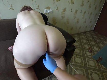 fisting in medical gloves, mature bbw lesbians. medical examination milf