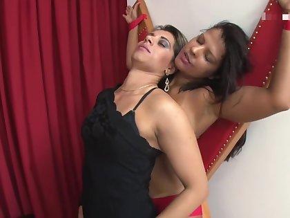 hot milf lesbian kissing
