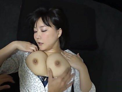 Mature and cute big tits japanese