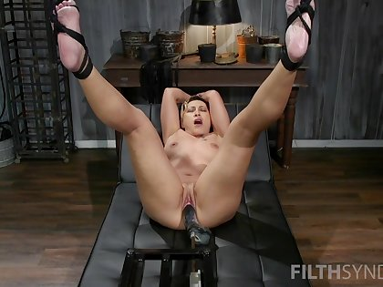 Strong going to bed machine solo admit be fitting of the hot mature