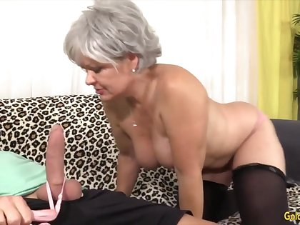 Mature Lady Gives Her Lover Some Meticulous Head Compilation