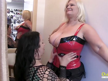 Mature Lesbians Lacey Starr and Jam Summers Picking Toys For Next Party Night