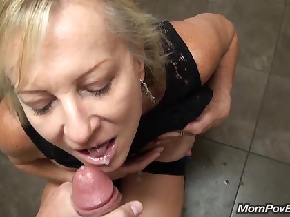 Starbucks Bathroom Blowjob And Outside Tits Rosy With 40 Yo Mature